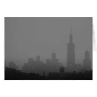 Gray Chicago Card