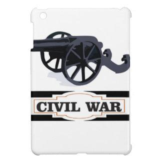 gray civil war cannons iPad mini case