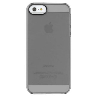 Gray Clear iPhone SE/5/5s Case