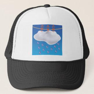 Gray Clouds Trucker Hat