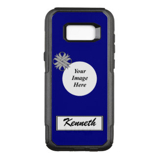 Gray Clover Ribbon Template by Kenneth Yoncich OtterBox Commuter Samsung Galaxy S8+ Case