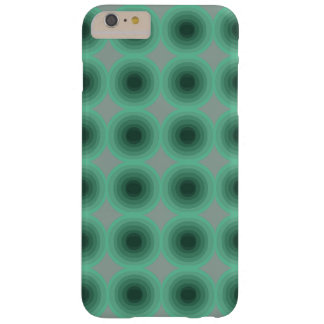 Gray cover with two tone mint green soft circles
