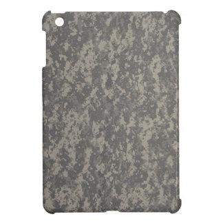 Gray Digital Military Camouflage iPad Mini Covers