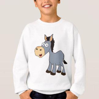 gray donkey sweatshirt