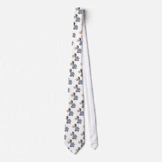 gray donkey tie