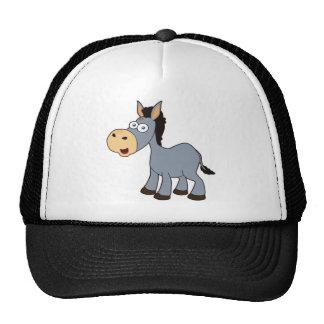 gray donkey trucker hat