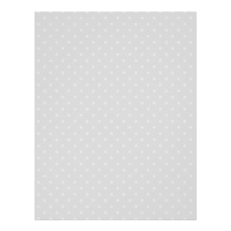 GRAY DOTS PERSONALIZED FLYER