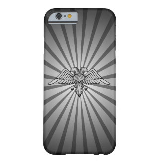 Gray eagle with two heads barely there iPhone 6 case