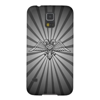 Gray eagle with two heads galaxy s5 covers