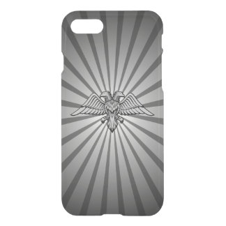 Gray eagle with two heads iPhone 7 case