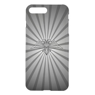 Gray eagle with two heads iPhone 8 plus/7 plus case