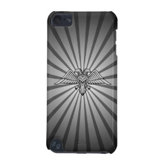 Gray eagle with two heads iPod touch (5th generation) cover