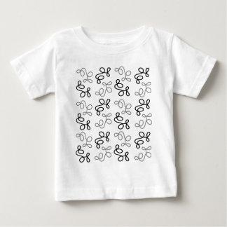 Gray elegance baby T-Shirt