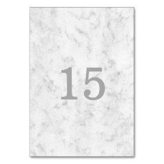 Gray Elegant Marble Wedding Card