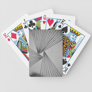 Gray Explicit Focused Love Bicycle Playing Cards