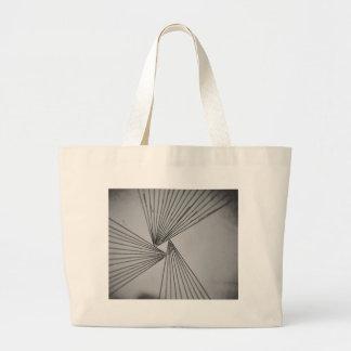 Gray Explicit Focused Love Large Tote Bag