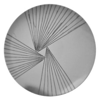 Gray Explicit Focused Love Plate