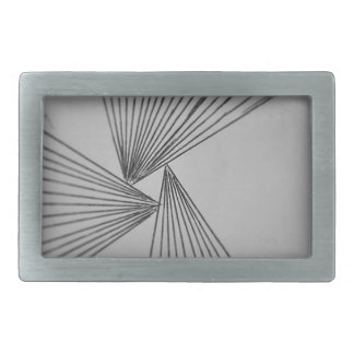 Gray Explicit Focused Love Rectangular Belt Buckle