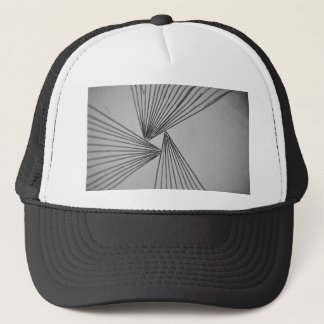 Gray Explicit Focused Love Trucker Hat