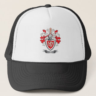 Gray Family Crest Coat of Arms Trucker Hat