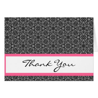 Gray Flowers and Stars Bridal Shower Template Greeting Card