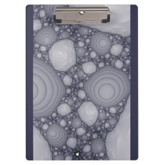 Gray fractal clipboard