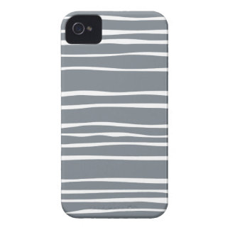 Gray Funky Striped Iphone 4S Case