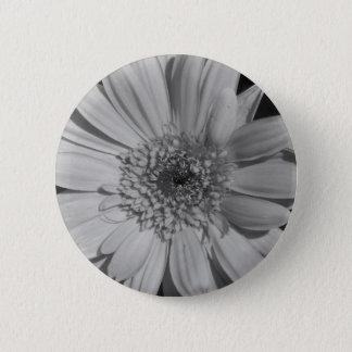 Gray Gerbera Button