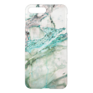 Gray & Green Marble Texture Design 3 iPhone 7 Plus Case