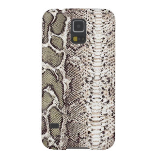 Gray Green Snake Skin Print Galaxy S5 Cases