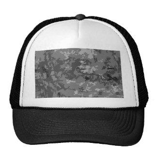 Gray Grey Camo Camouflage Design Pattern Trucker Hat