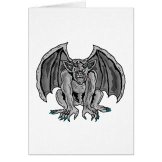 Gray/Grey Gargoyle Card