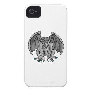 Gray Grey Gargoyle iPhone4 Case
