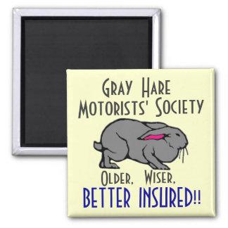 Gray Hare Motorists' Society Magnet