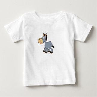 gray horse art baby T-Shirt