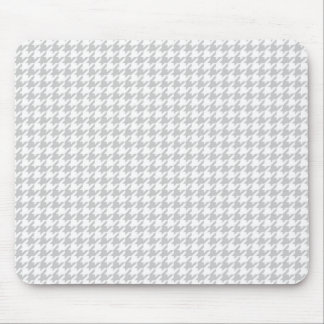 Gray Houndstooth Mousepad