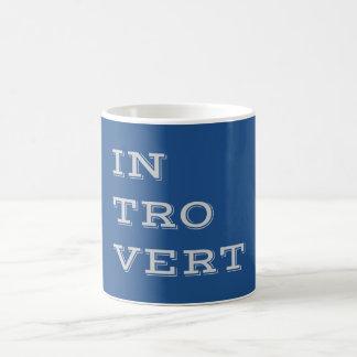 Gray Introvert Mug