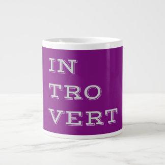 Gray Introvert Specialty Mug Jumbo Mug