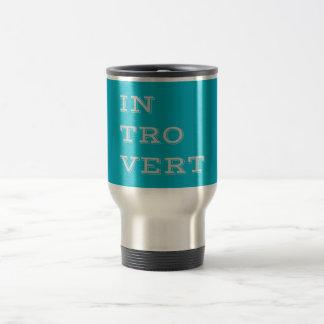Gray Introvert Travel Mug