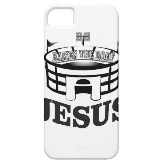 Gray JC raises the roof Case For The iPhone 5