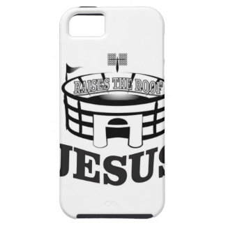 Gray JC raises the roof iPhone 5 Covers