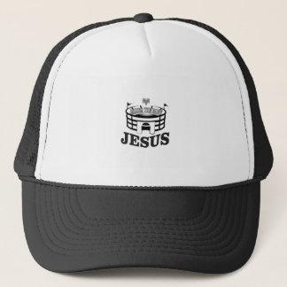 Gray JC raises the roof Trucker Hat