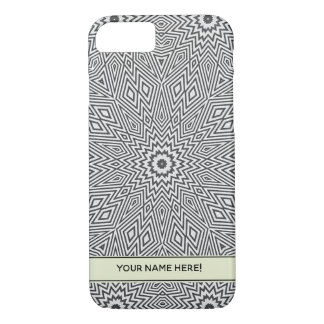 Gray Kaleidoscope Star iPhone 8/7 Case