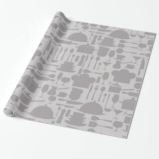 Gray Kitchen Gadget Print