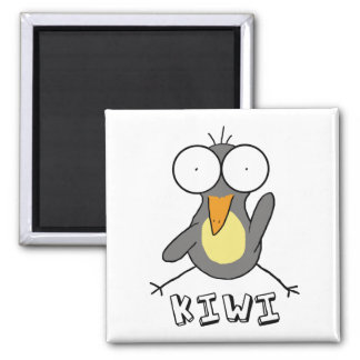 Gray Kiwi Magnet