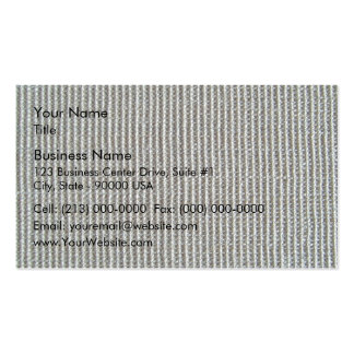 Gray Knitted Fabric Texture Business Card