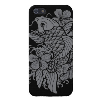 Gray Koi Fish iPhone 5 Covers