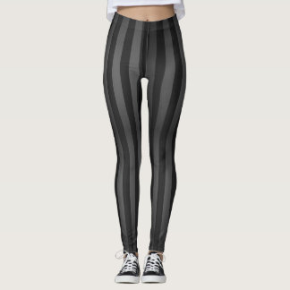 Gray Lines Leggings