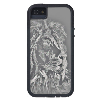 Gray Lion iPhone 5/5S Covers