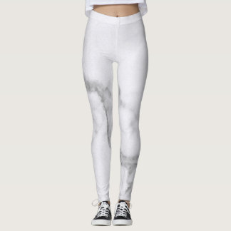 Gray Marble Leggings
